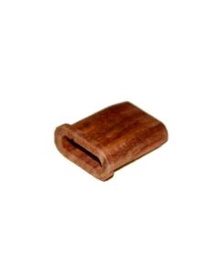 Das Mundstück aus Holz für den AirVape X sieht cool aus und sorgt für pure Dämpfe