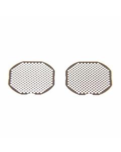 Diese Kammersiebe verhindern, dass Material in den Ofen des Boundless CFX fällt.