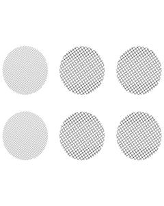 Dieser Satz kleiner gemischter Siebe besteht aus 4 groben Sieben und 2 normalen Sieben und passt zu Crafty, Mighty und Dosierkapsel-Adaptern