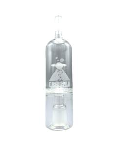 Der Obsidian Glas-Bubbler macht das Einatmen des Dampfes angenehmer, indem er die Temperatur senkt und dabei die Luftfeuchtigkeit erhöht.